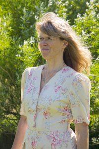 Senioren-Assistentin Myriam Frieser über mich im Garten